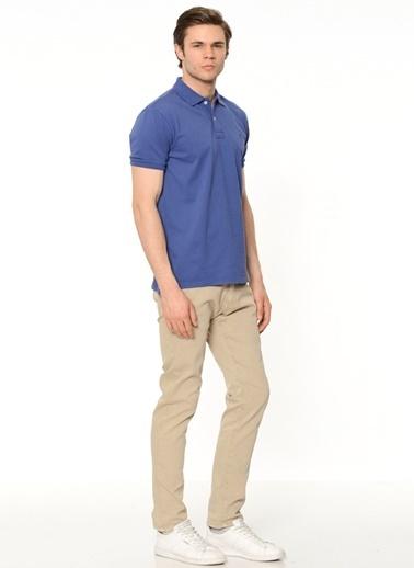 Cacharel Polo Yaka Tişört Mavi